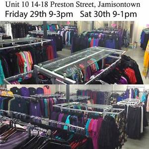 Plus size clothing warehouse Penrith Sizes 18 to 28 Jamisontown Penrith Area Preview