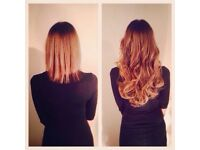Micro loop bead ring hair extensions. £130 full head. Same day appointments