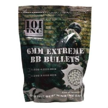 Airsoft extreme BBs 0.20g 6mm zak# de BESTE in army