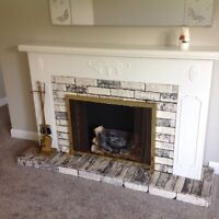 Electric Ornamental Fireplace