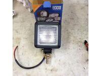 Halogen work lights