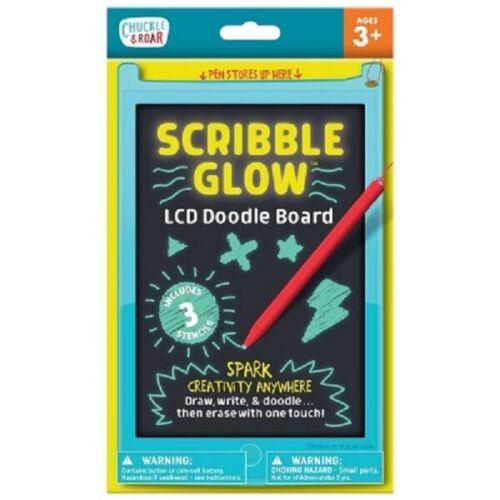 Chuckle & Roar Scribble Glow LCD Sketch Pad