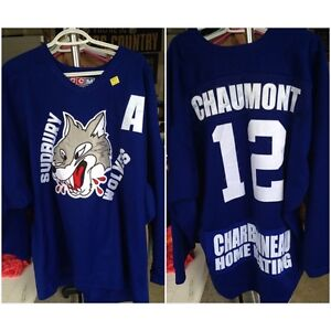 Autographed Pre-Game Sudbury Wolves Jersey