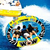 XO EXTREME 1-3 persons tube inflatable towable lounge water-ski WOW 12-1030