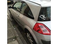 Renault megane for sale 10 months MOT quick sale