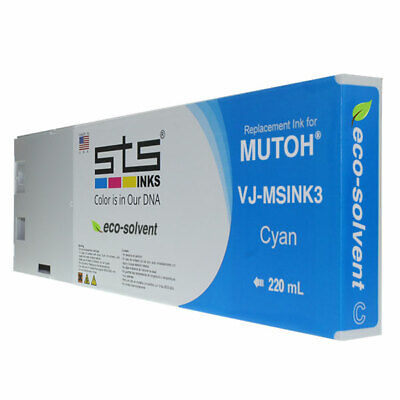 220mil Mutoh Eco-solvent Ink Cyan