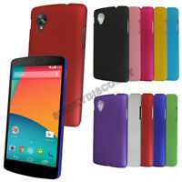 BRAND NEW NEXUS 5 HARD COVER CELL PHONE CASES 8 COLOURS