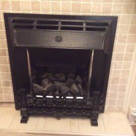 Canon live flame gas fire