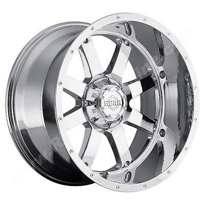 (Gear Alloy Big Block 22X12 8X170 -44et Chrome Plated Wheels Rims)