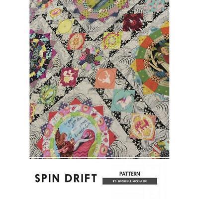Spin Drift Jen Kingwell Designs Scrappy Quilt Pattern