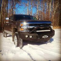 Steel truck bumpers