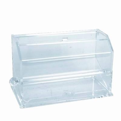 Pencil Dispenser (NEW Acrylic Straw Dispenser PLSD002 #3884 Self Serve Pencil Box Clear)