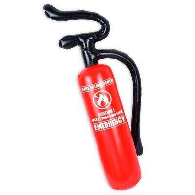 Aufblasbarer Feuerlöscher, Kindergeburtstag oder Feuerwehr-Mottoparty, Deko-Idee