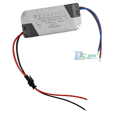 3-5x 3w High-power Constant Current Led Light Driver Ac 90-260v To Dc 10-18v
