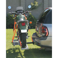 Receiver-Mount Motorcycle Carrier