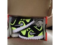 Brand new baby Nike trainers