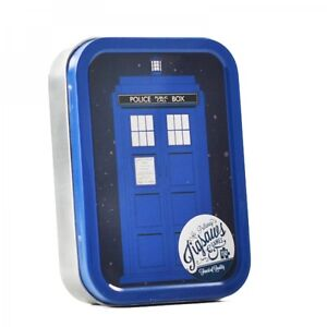 165 Pieces Dr Doctor Who Tardis Jigsaw Puzzle In A Collectors Gift Tin Official