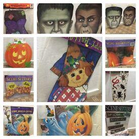 Halloween decorations bundle