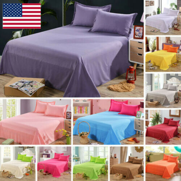 Bedding Sheet Bed Flat Sheets Soft Skin-friendly Coverlet Pi