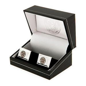CELTIC FC SILVER PLATED SHIRT CUFFLINKS CUFF LINKS BOXED NEW GIFT XMAS
