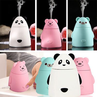 Cute Mini USB Humidifier Air Purifier Aroma Diffuser Atomizer Office Home Gift | eBay