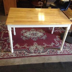 Smaller Solid wood Dining table
