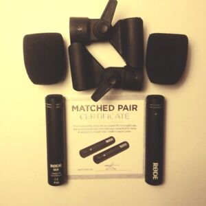 Rode M5 matched pair