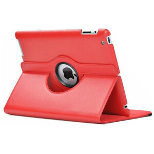 Red PU Leather 360 Rotating Case Cover for Ipad Mini 1 2 3 New Regina Regina Area image 2