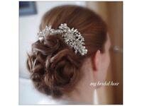 MG Bridal hair, Edinburgh -07757269895