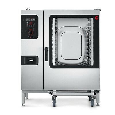 Convotherm C4ED12.20GB Full-Size Roll-In Gas Combi Oven with Easy Dial Controls
