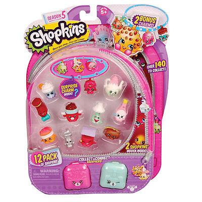Season 5 Shopkins 12 Pack Collectable Figures Kids Toy Series 5 ~ SEND RANDOMLY