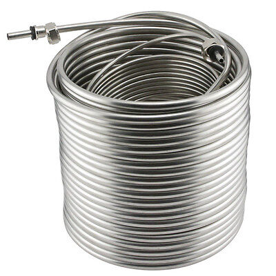 Stainless Steel Coil For Jockey Box - 120 Length - Picnic Draft Beer Dispensing
