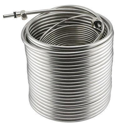 Stainless Steel Coil For Jockey Box - 120 Length - Picnic Draft Beer Dispensing