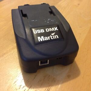 Martin light jockey dmx usb