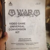 Rare Atari war final assault arcade conversion kit