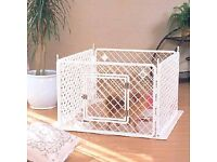 Hardly used plastic puppy pen