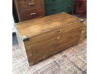 Antique Victorian camphor chest SOLD