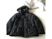 Teenage girls winter Navy coat
