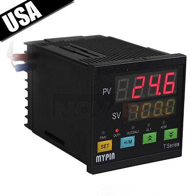 New Digital F/C PID Temperature Controller Output J,S,K,E TA7-SNR SSR-25DA PT100