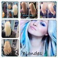 Hair extensions : All methods, fusions, tape ins