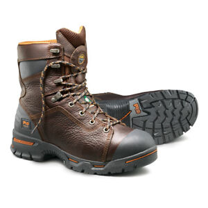 """Timberland Pro 8"""" Endurance Steel Safety Toe Boots (Size 11)"""