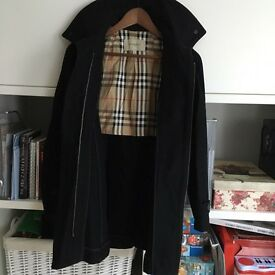 Burberry coat size 4