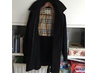 Burberry coat size 4