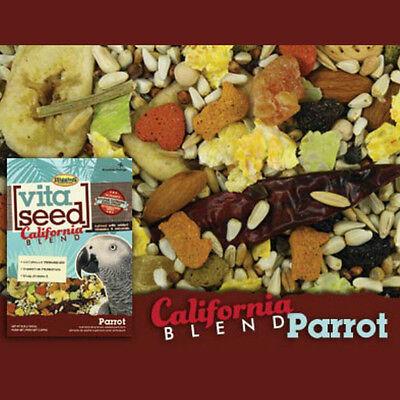 5 lb Higgins Vita California Blend Parrot Food No Sunflower Seed Great Bird Mix