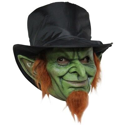 Mad Goblin Evil Leprechaun Adult Mask  Horror Halloween ](Leprechaun Mask)