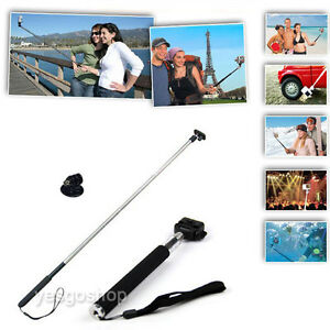 Extendable-Monopod-Pole-Handle-w-Tripod-Mount-For-Go-Pro-1-2-3-3-4-Telescopic