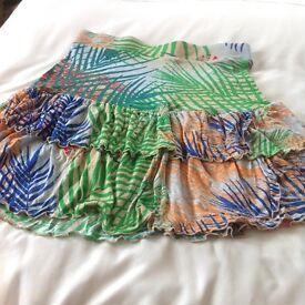 TU summer short skirt never been worn
