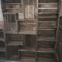 Antique Apple Crates THE BIG SUMMER DEAL $25 each
