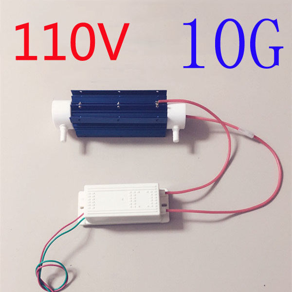 110V Ozone Generator Tube Air Purifier Water treatment Quartz Tube+Power supply Heating, Cooling & Air