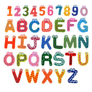 lettre chiffre alphabet frigo aimant sticker magnet magn tique enfant educatif ebay. Black Bedroom Furniture Sets. Home Design Ideas